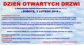 DZIEŃ OTWARTYCH DRZWI w Szpitalu Wojewódzkim