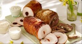 Zimny półmisek mięs z trzema sosami