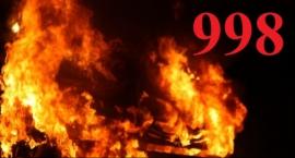 Pożar na ulicy Warszawskiej