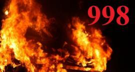 Działania straży pożarnej 10.04