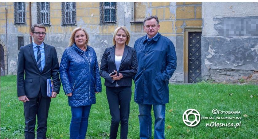 Wydarzenia, Komendant Oleśnicy - zdjęcie, fotografia