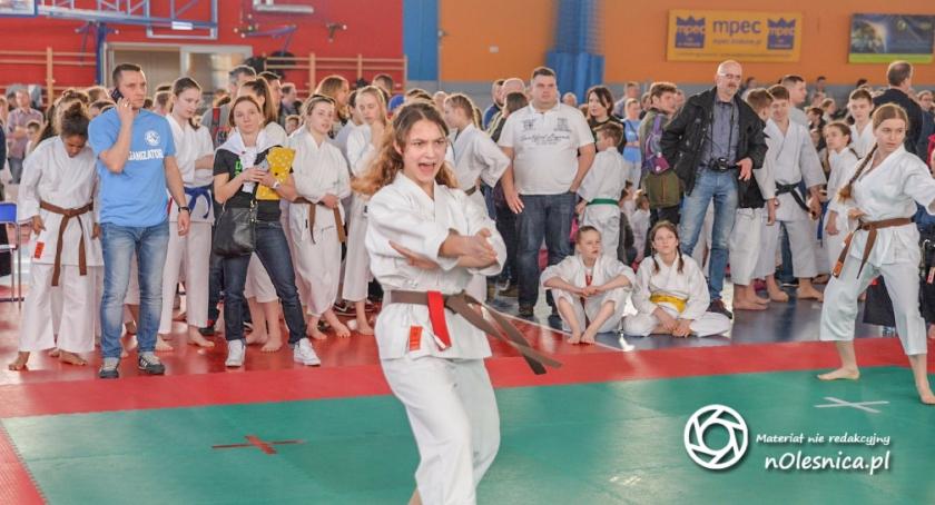Karate, Starty zawodników Hikari Oleśnica - zdjęcie, fotografia