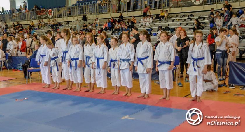 Karate, Hikari przed zawodami ogólnopolskimi - zdjęcie, fotografia