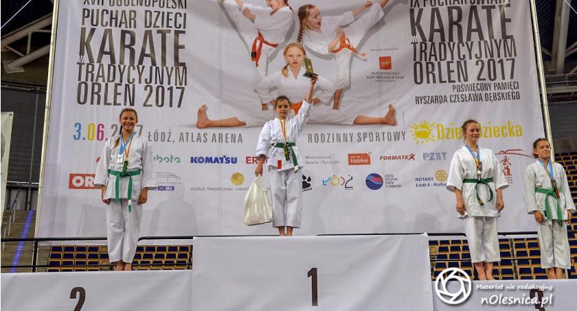 Karate, Srebrna sobota okraszona złotem - zdjęcie, fotografia