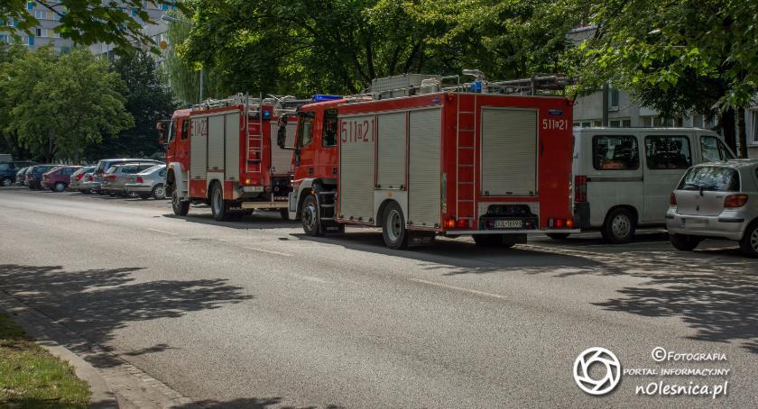 Na sygnale, wysiłku ratowników udało uratować starszej kobiety - zdjęcie, fotografia