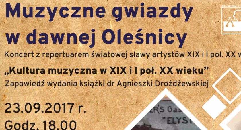 Kultura, Oleśnickich Spotkań Muzyką koncert - zdjęcie, fotografia