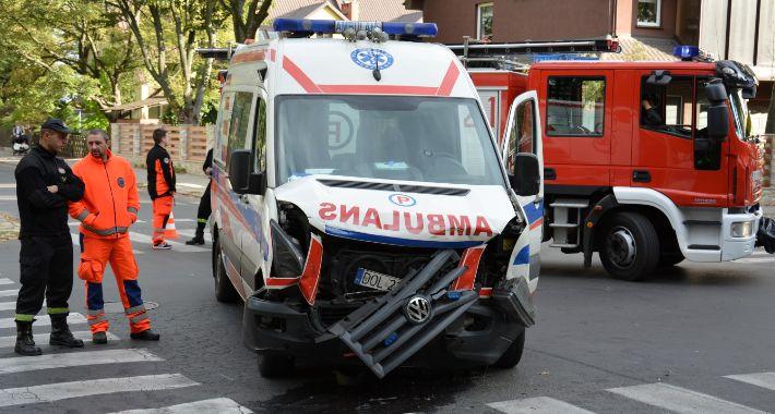 Na sygnale, Wypadek karetki Sudoła - zdjęcie, fotografia