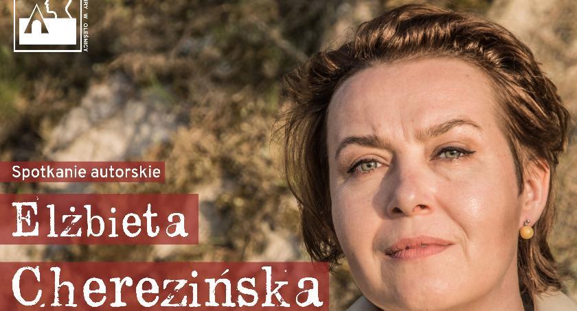 Kultura, Spotkanie autorskie Elżbietą Cherezińską - zdjęcie, fotografia