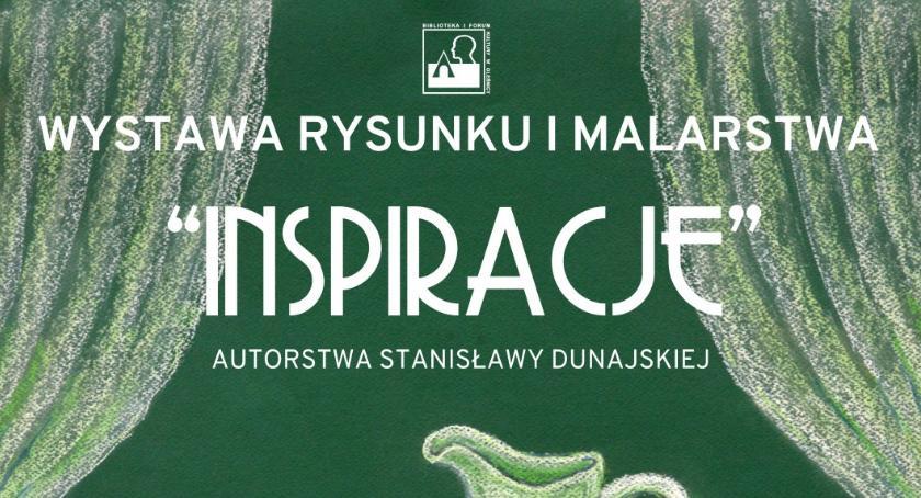 Wystawy, Wystawa rysunku pasteli Stanisławy Dunajskiej - zdjęcie, fotografia