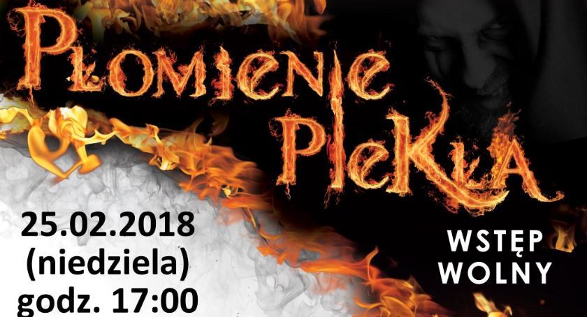 """Teatr, Spektakl """"Bramy Nieba Płomienie Piekła"""" - zdjęcie, fotografia"""