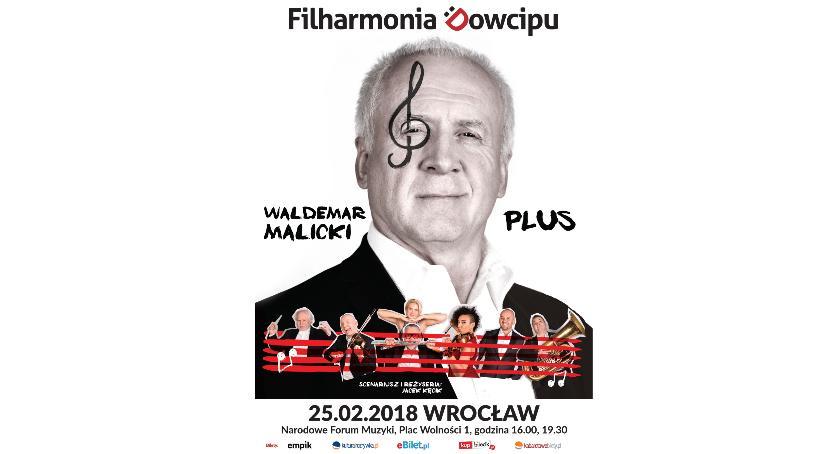 Koncerty, Zgarnij wejściówkę Filharmonię Dowcipu [wejściówka została przekazana] - zdjęcie, fotografia