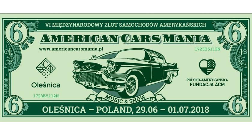 Motoryzacja, pewne American Mania odbędzie Oleśnicy - zdjęcie, fotografia