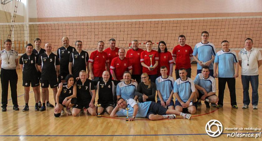 Siatkówka, Samorządowy Turniej Piłki Siatkowej Puchar Wójta Gminy Oleśnica - zdjęcie, fotografia
