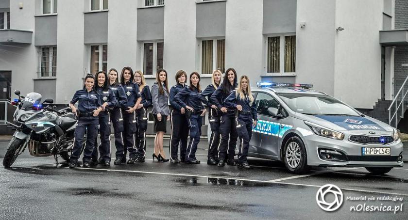 Wydarzenia, Kobiety oleśnickiej policji - zdjęcie, fotografia