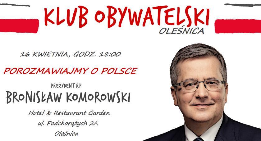 Wydarzenia, Bronisław Komorowski odwiedzi Oleśnicę - zdjęcie, fotografia