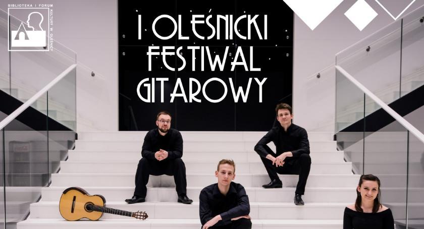 Koncerty, Oleśnicki Festiwal Gitarowy Erlendis Quartet - zdjęcie, fotografia