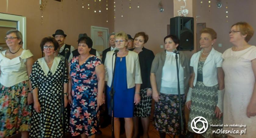 Wydarzenia, Wójt seniorzy Ligoty Polskiej Poniatowic Osady Leśnej - zdjęcie, fotografia
