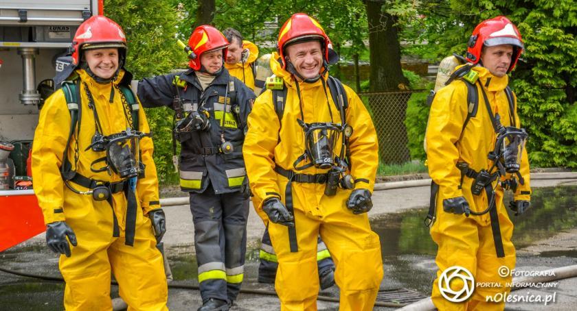Wydarzenia, Ćwiczenia ratowniczo gaśnicze - zdjęcie, fotografia
