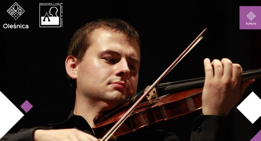 Koncerty, Recital skrzypcowy Stanisława Podemskiego - zdjęcie, fotografia
