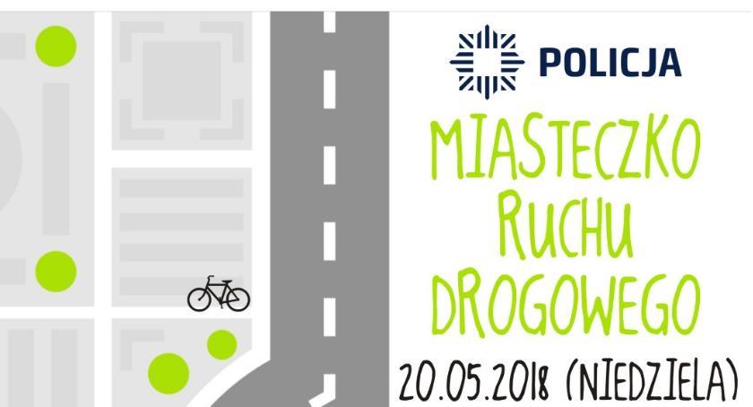 Wydarzenia, Miasteczko ruchu drogowego Oleśnicy - zdjęcie, fotografia