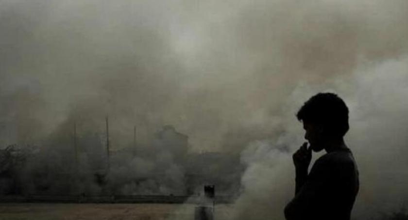 Wydarzenia, Alert poziomu niebezpieczne zanieczyszczenia powietrza naszym powiecie - zdjęcie, fotografia