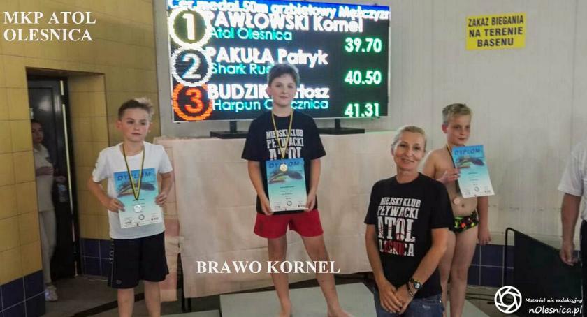 Pływactwo, Sukcesy pływaków Oleśnica Nowej Rudzie - zdjęcie, fotografia