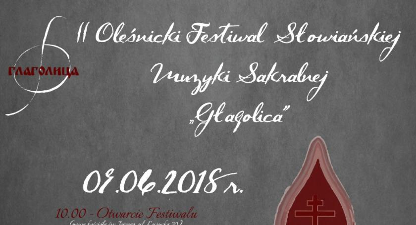 Koncerty, Oleśnicki Festiwal Słowiańskiej Muzyki Sakralnej GŁAGOLICA - zdjęcie, fotografia