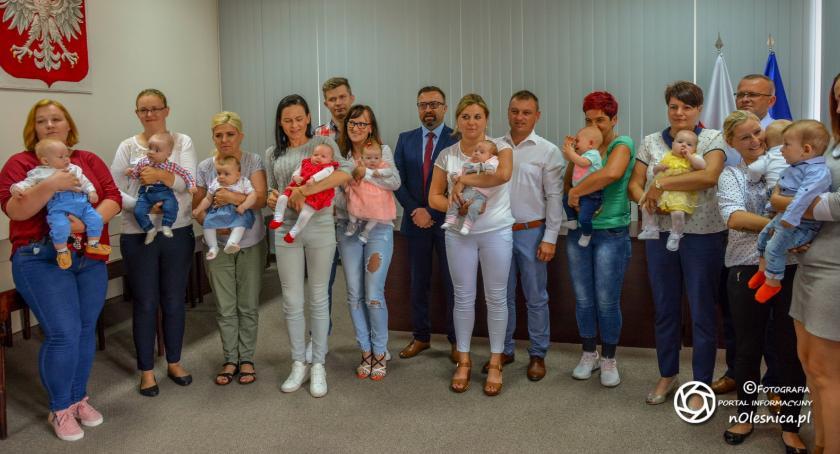 Wydarzenia, Przywitanie najmłodszych mieszkańców gminy - zdjęcie, fotografia