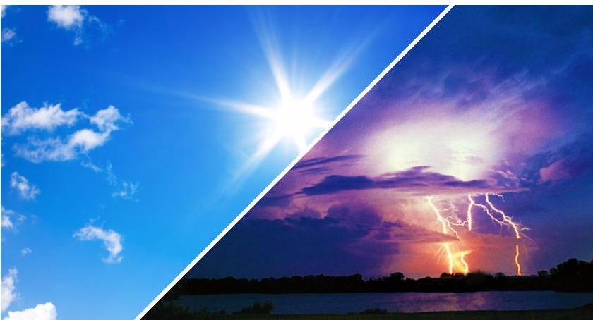 Wydarzenia, Kolejne ostrzeżenie meteo Upały burze gradem - zdjęcie, fotografia