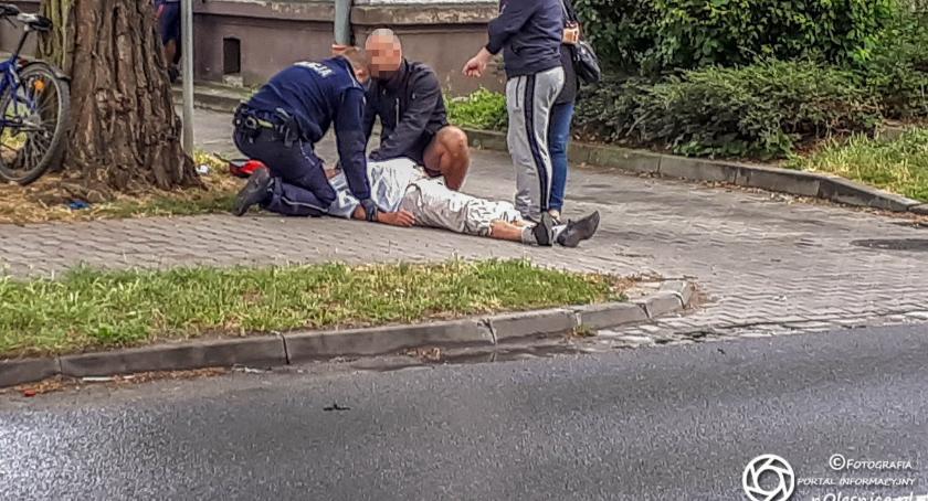 Wydarzenia, Reanimacja mężczyzny Sudoła znów problem karetką - zdjęcie, fotografia