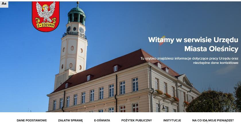 Wydarzenia, Urząd Miasta uruchomił swój serwis internetowy - zdjęcie, fotografia