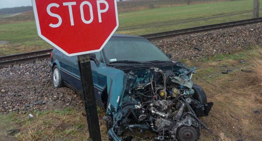 Wydarzenia, Policja apeluje Bezpieczny przejazd kolejowy - zdjęcie, fotografia