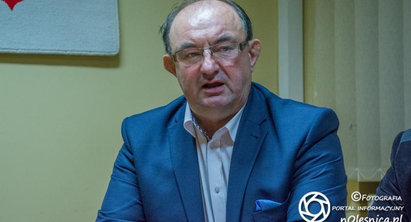 Wybory, Bronś kandydatem burmistrza - zdjęcie, fotografia