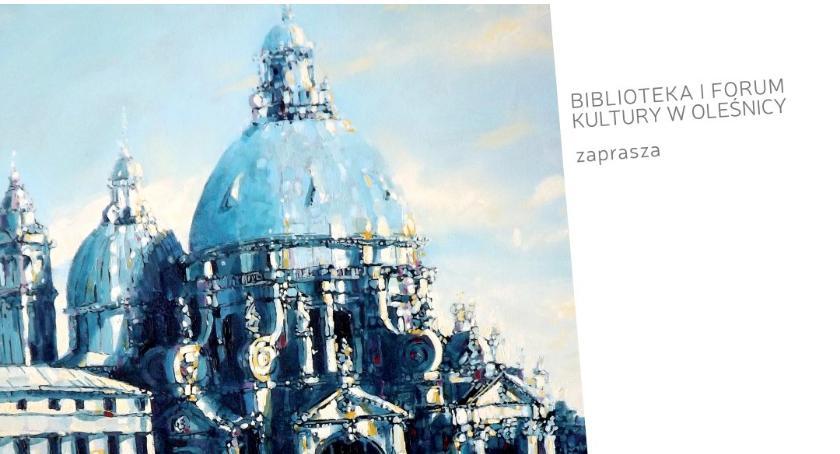 Wystawy, Wystawa malarstwa Jarosława Kiełbasiewicza - zdjęcie, fotografia