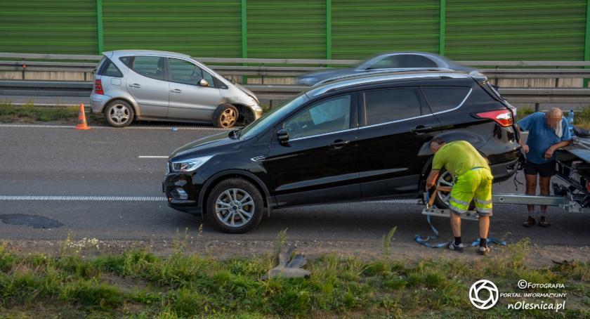 Na sygnale, Wypadek sycowskim odcinku - zdjęcie, fotografia