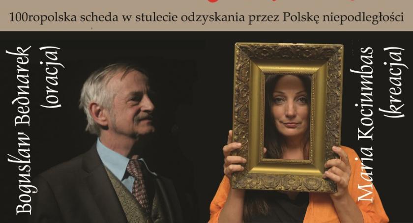 Kultura, 100ropolska scheda Bogusław Bednarek Maria Kociumbas Oleśnicy - zdjęcie, fotografia