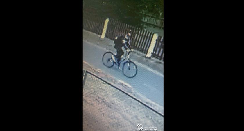 Na sygnale, Policja prosi pomoc identyfikacji sprawcy włamań - zdjęcie, fotografia
