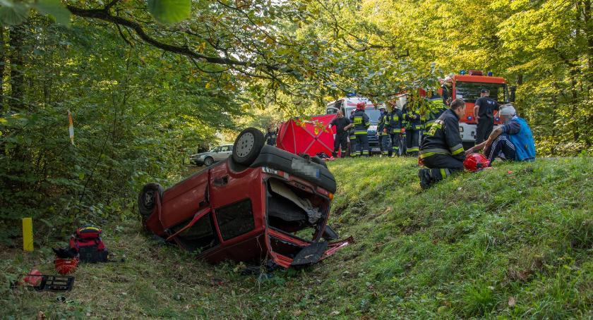 Na sygnale, Areszt spowodowanie wypadku skutkiem śmiertelnym - zdjęcie, fotografia