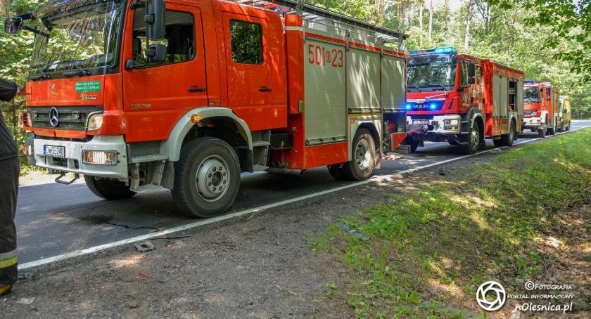 Wydarzenia, Oleśniccy strażacy także bezpiecznie #czerwonka AKTUALIZACJA - zdjęcie, fotografia