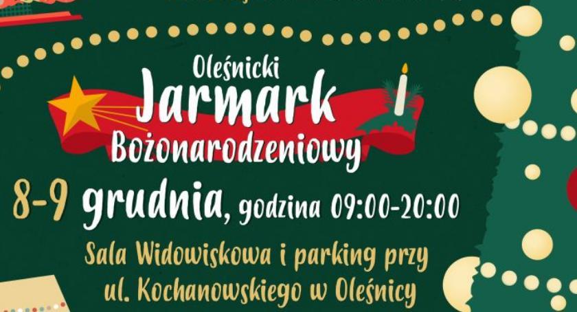 Kultura, Choinka jarmark Oleśnicy - zdjęcie, fotografia