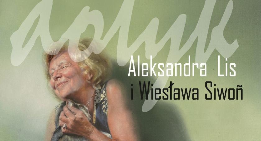 Kultura, Wernisaż wystawy malarstwa DOTYK autorstwa Aleksandry Wiesławy Siwoń - zdjęcie, fotografia