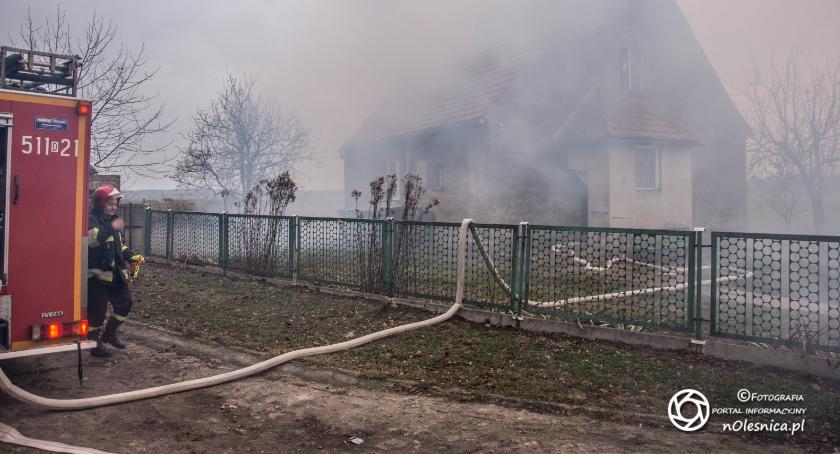 Na sygnale, Pożar Bystrem VIDEO - zdjęcie, fotografia