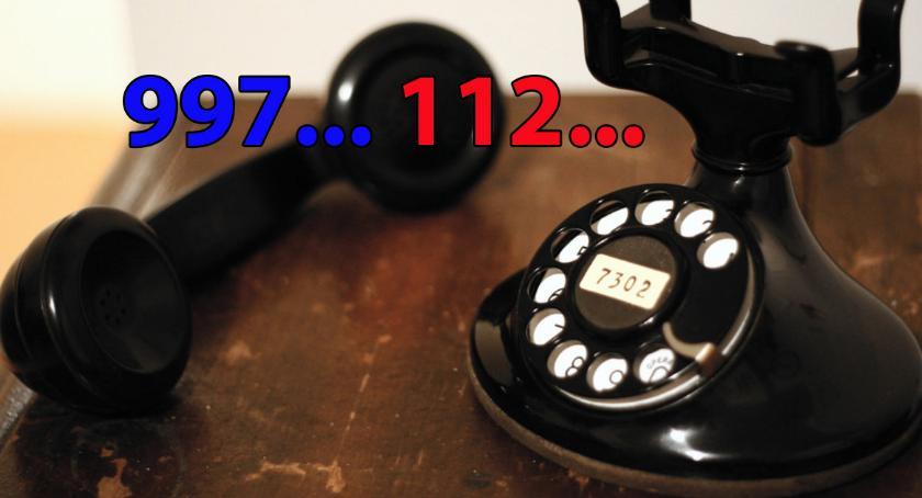 Wydarzenia, dzisiaj dzwoniąc numer dodzwonisz policji - zdjęcie, fotografia