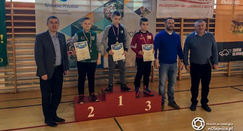 Zapasy, Młodzi zawodnicy Fighters Factory Oleśnica zdobyli medale Krośnicach - zdjęcie, fotografia