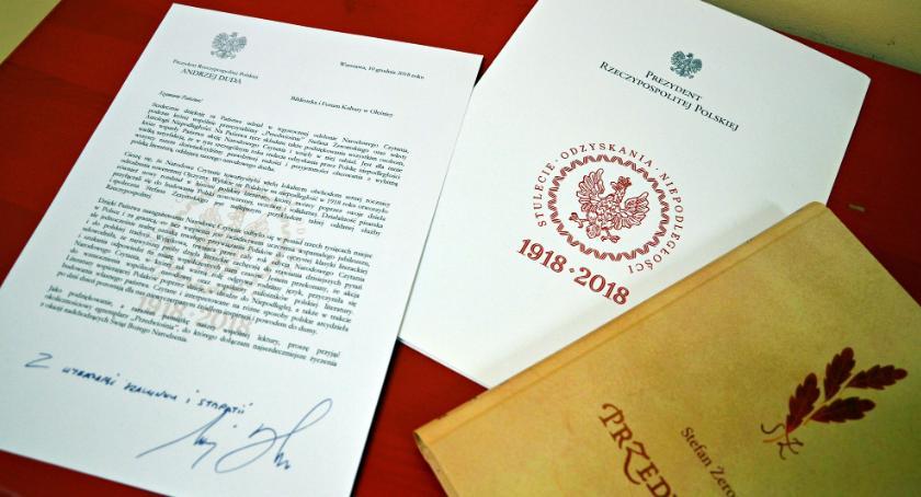 Kultura, Podziękowania prezydenta - zdjęcie, fotografia
