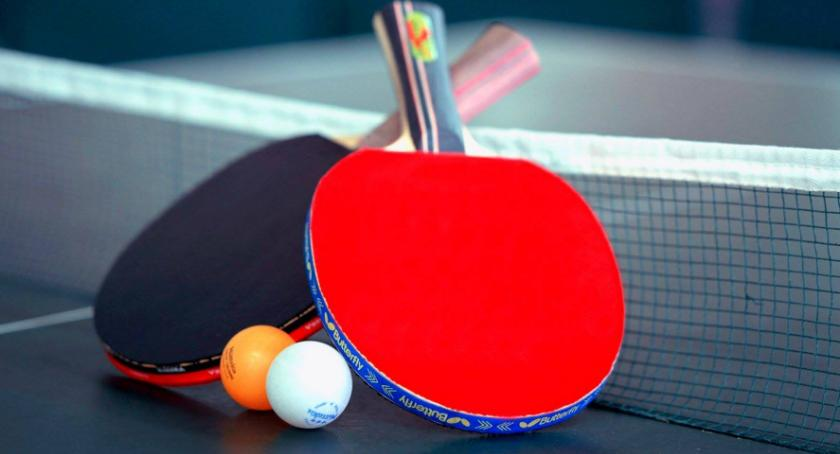 Sport, edycja Oleśnickiej Amatorskiej tenisie stołowym - zdjęcie, fotografia