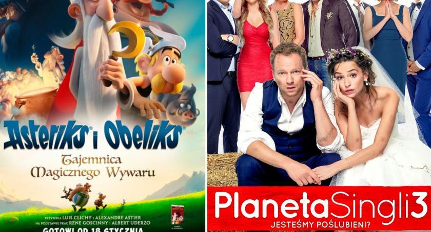 Kino, Asterix Planeta singli lutym - zdjęcie, fotografia