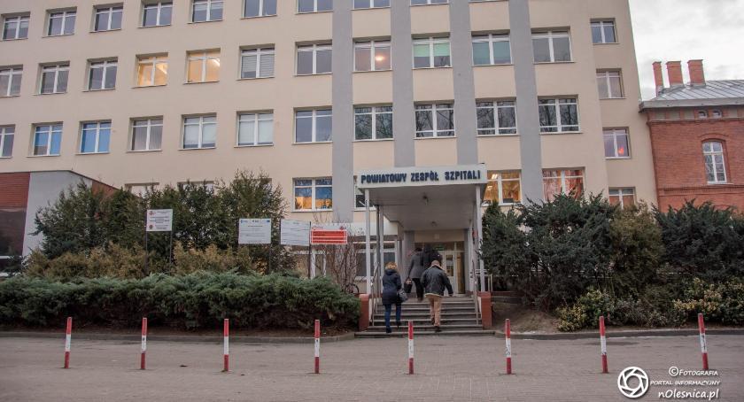 Wydarzenia, oleśnickim szpitalu pacjent zmarł świńską grypę - zdjęcie, fotografia