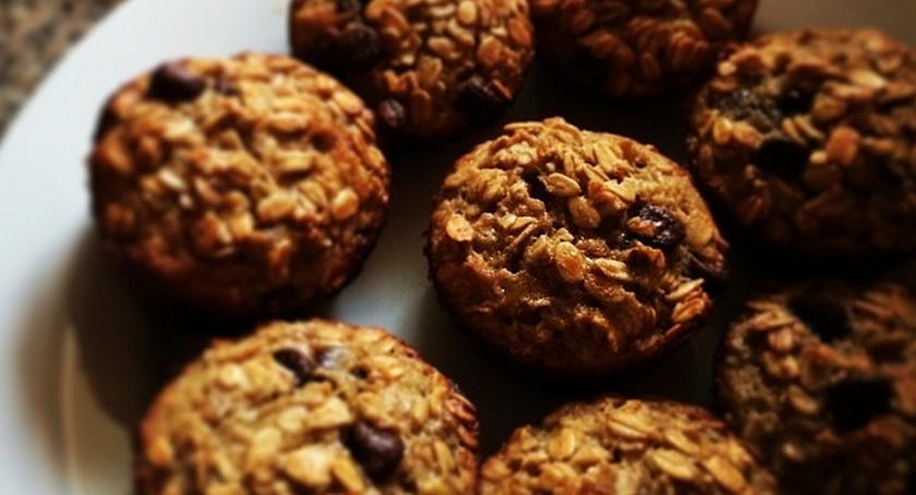 Kulinaria, Zdrowe przekąski Miodowo orkiszowe ciasteczka płatkami orkiszowymi - zdjęcie, fotografia