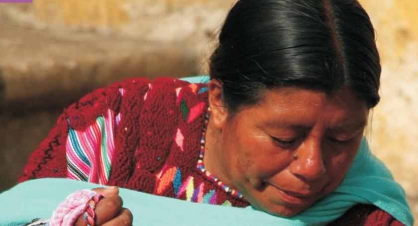 Kultura, Indianie meksykańscy spotkanie Julietą González Springer - zdjęcie, fotografia